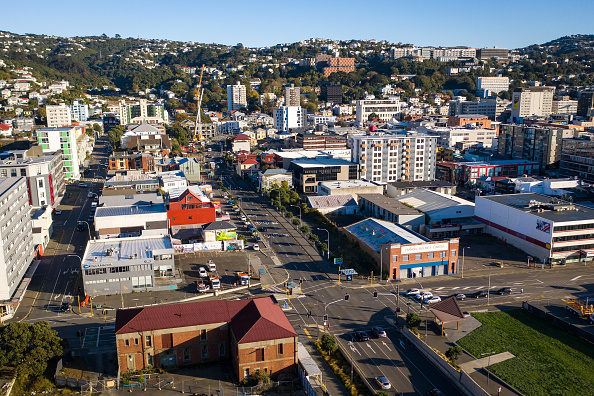 California State Route 1「Aerials Of Wellington As NZ Coronavirus Lockdown Restrictions Move To Level 3」:写真・画像(8)[壁紙.com]