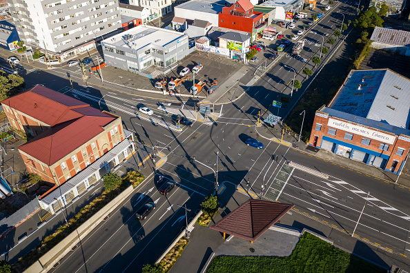 California State Route 1「Aerials Of Wellington As NZ Coronavirus Lockdown Restrictions Move To Level 3」:写真・画像(9)[壁紙.com]
