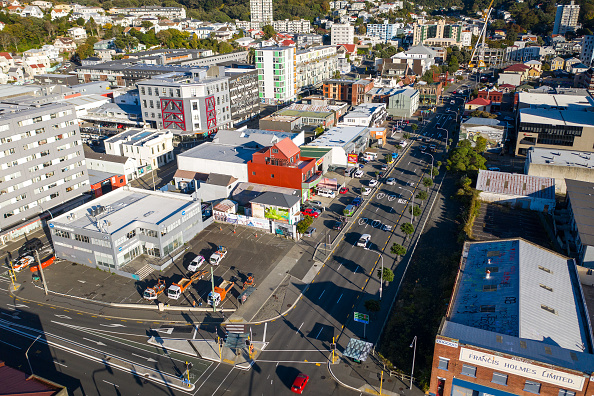 California State Route 1「Aerials Of Wellington As NZ Coronavirus Lockdown Restrictions Move To Level 3」:写真・画像(10)[壁紙.com]
