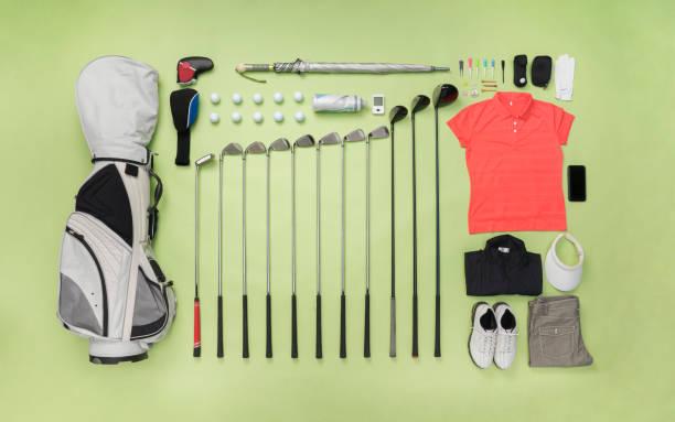 Golf item  knolling style:スマホ壁紙(壁紙.com)