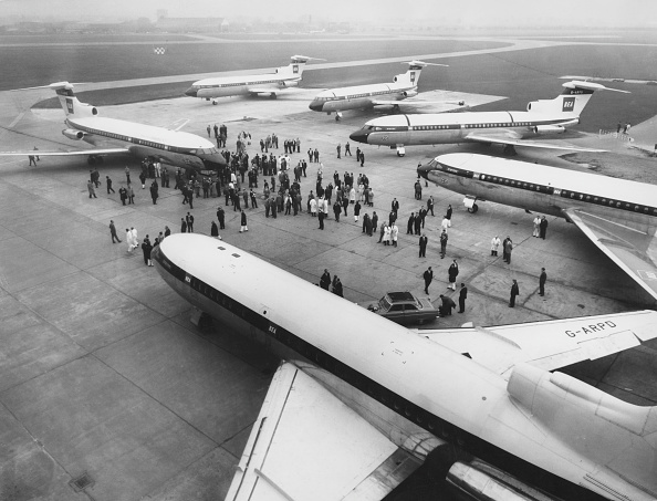 Airport Terminal「Hawker Siddeley HS 121 Trident」:写真・画像(8)[壁紙.com]