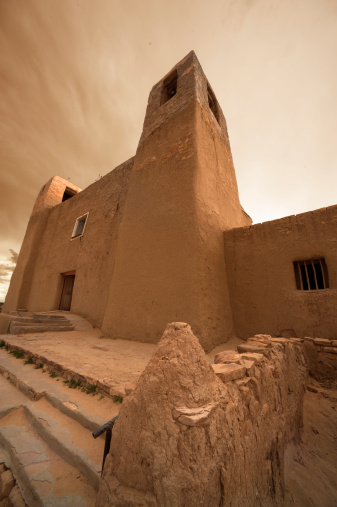 文化「500 year old adobe cathedral」:スマホ壁紙(3)