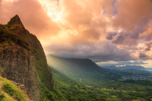 オアフ島「Hawaii, Oahu, Tropical Scenery」:スマホ壁紙(15)