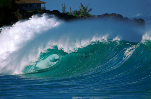 Waimea Bay「USA Hawaii O'ahu, North Shore, Waimea Bay.」:スマホ壁紙(13)