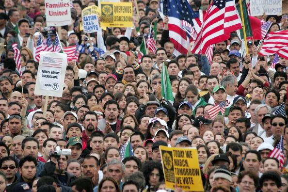 Patriotism「Immigrants Rally And Hold Boycotts Nationwide」:写真・画像(19)[壁紙.com]