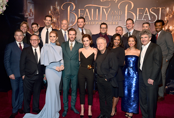 エマ・ワトソン「The World Premiere Of Disney's Live-Action 'Beauty And The Beast'」:写真・画像(16)[壁紙.com]