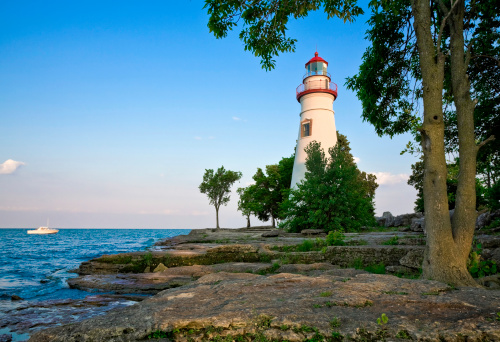 Great Lakes「Marblehead Lighthouse - Lake Erie, Ohio」:スマホ壁紙(17)