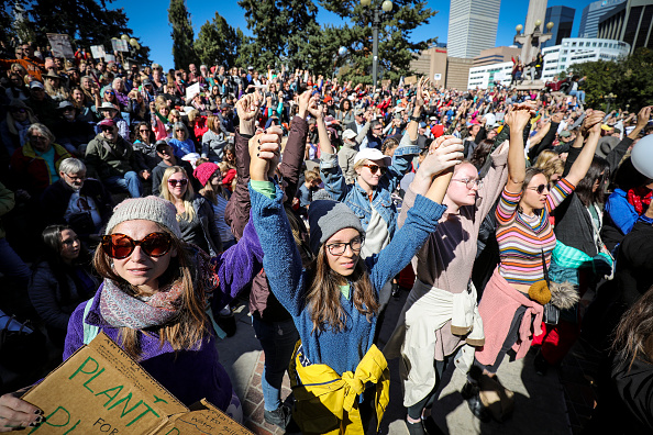 "Social Issues「Climate Activist Greta Thunberg Holds ""Fridays For Future"" Event In Denver」:写真・画像(11)[壁紙.com]"