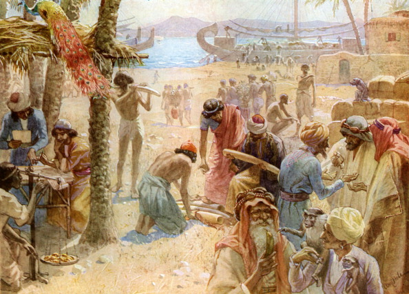 Ancient「The commerce of King Solomon」:写真・画像(10)[壁紙.com]