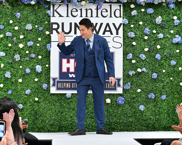 Masahiro Tanaka「Runway Heroes Walk With The Yankees At Kleinfeld」:写真・画像(10)[壁紙.com]
