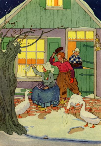 Door「Dutch family wave goodbye,」:写真・画像(1)[壁紙.com]