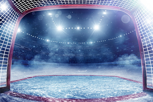 National Hockey League「Dramatic ice hockey arena」:スマホ壁紙(10)