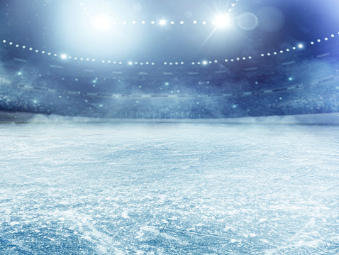 Sport「Dramatic ice hockey arena」:スマホ壁紙(6)