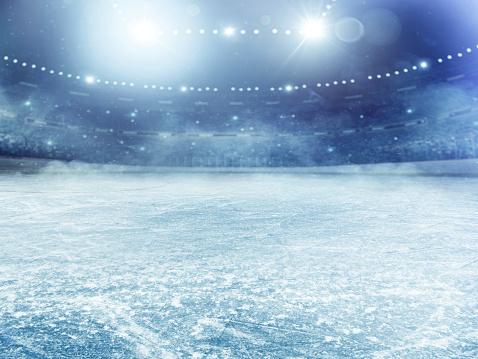 Competition「Dramatic ice hockey arena」:スマホ壁紙(6)