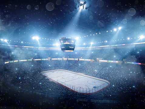 National Hockey League「Dramatic ice hockey arena」:スマホ壁紙(18)