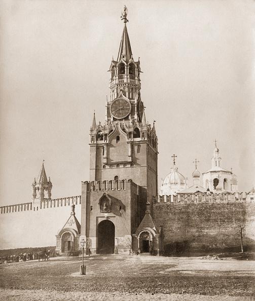 1870-1879「Spasskaya Tower」:写真・画像(3)[壁紙.com]