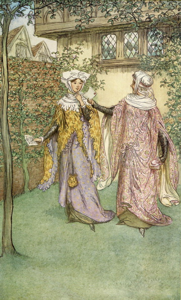 Elizabethan Style「The Merry Wives of Windsor by William Shakespeare」:写真・画像(17)[壁紙.com]