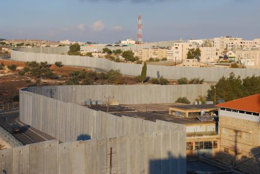 Bethlehem - West Bank「Israel's Security Barrier on edge of Bethlehem」:スマホ壁紙(0)