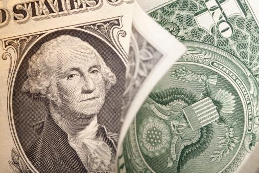 アメリカ通貨「1 ドル紙幣」:スマホ壁紙(11)