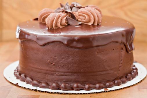 チョコレート「ファッジ全体のチョコレートケーキ」:スマホ壁紙(17)