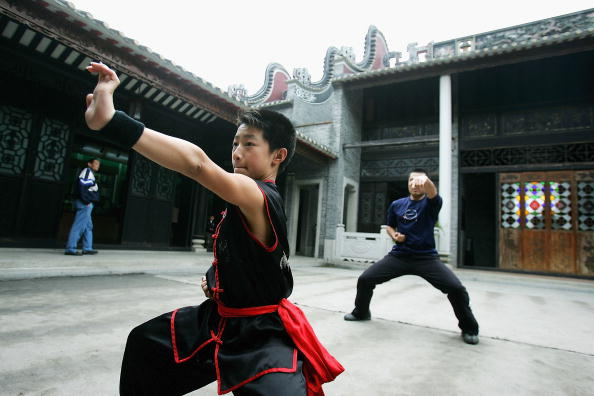 Cancan Chu「A Kung Fu Team Perform In Foshan Of China」:写真・画像(14)[壁紙.com]