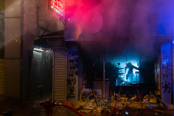 Mong Kok「Anti-Government Protests Continue in Hong Kong」:写真・画像(9)[壁紙.com]