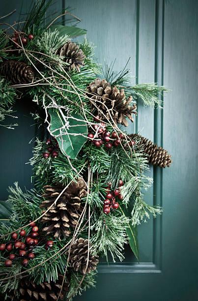Holiday Wreath:スマホ壁紙(壁紙.com)