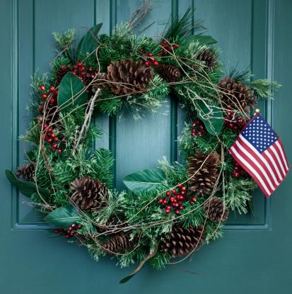 Pine Cone「Holiday Wreath」:スマホ壁紙(9)