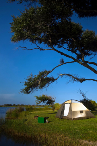 Gulf Coast States「Campsite on the banks of Shelby Lakes in Gulf Shores, Alabama.」:スマホ壁紙(0)