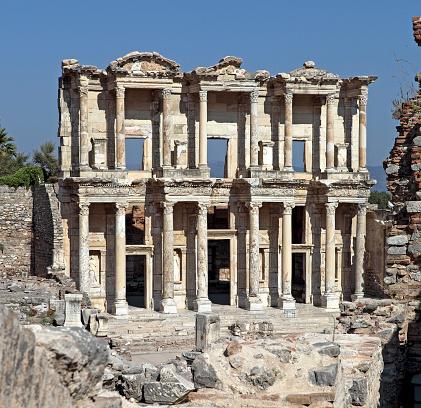 Roman「Library of Celsus」:スマホ壁紙(12)