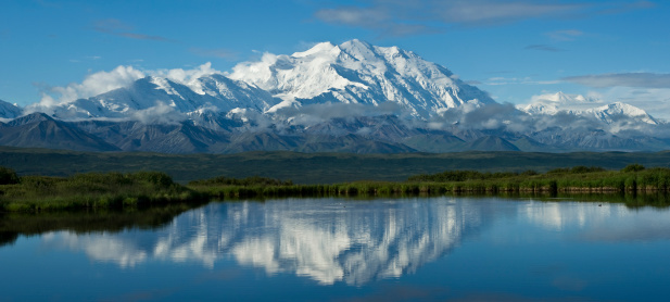 Alaska Range「McKinley panorama」:スマホ壁紙(10)
