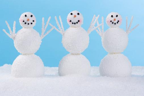 雪だるま「雪だるま 3」:スマホ壁紙(14)