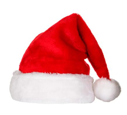 縁なし帽子「サンタの帽子(クリッピングパス」:スマホ壁紙(0)