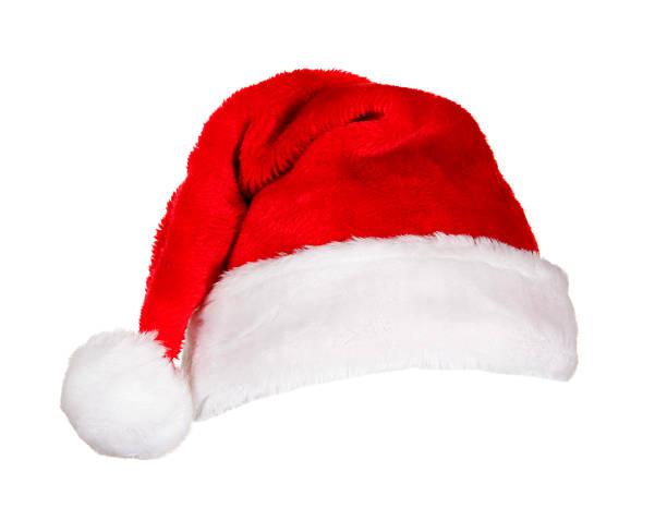 サンタの帽子(ホワイト):スマホ壁紙(壁紙.com)