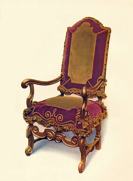 'William And Mary Armchair', 17th Century, (1910):ニュース(壁紙.com)