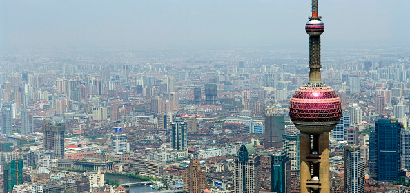 Environmental Damage「Shanghai Pudong City skyline」:写真・画像(13)[壁紙.com]