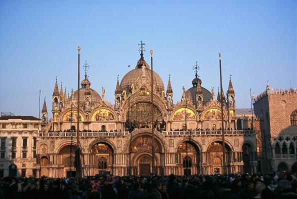 バシリカ「St Mark's Basilica in Venice, Italy, Photography, 2005」:写真・画像(4)[壁紙.com]