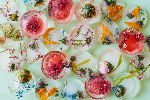 Floral Pattern「For a pretty element on a summer table」:スマホ壁紙(4)