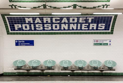 Railway「Marcadet Poissonniers Metro station」:スマホ壁紙(16)