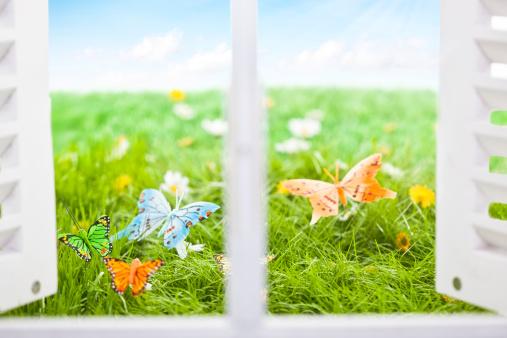 イースター「春の日」:スマホ壁紙(3)