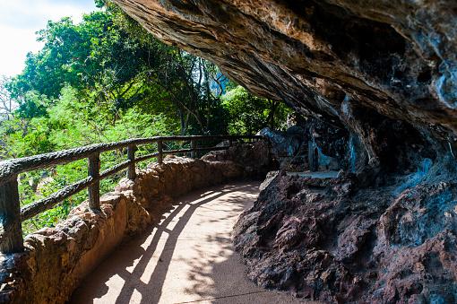 北マリアナ諸島「Footpath with balustrade, Saipan, Northern Marianas」:スマホ壁紙(11)