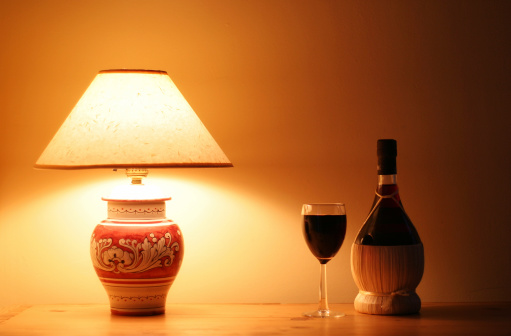 Lamp Shade「Italian Lamp & Wine」:スマホ壁紙(16)