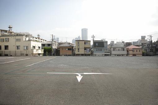 Shinjuku Ward「Urban parking lot」:スマホ壁紙(19)