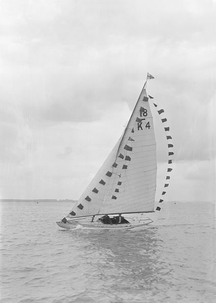 Routine「Saling Yacht Asphodel (K5) With Prize Flags」:写真・画像(6)[壁紙.com]