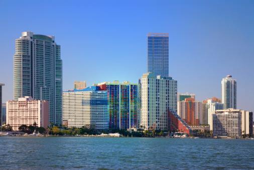 Miami Beach「マイアミの街並み」:スマホ壁紙(15)