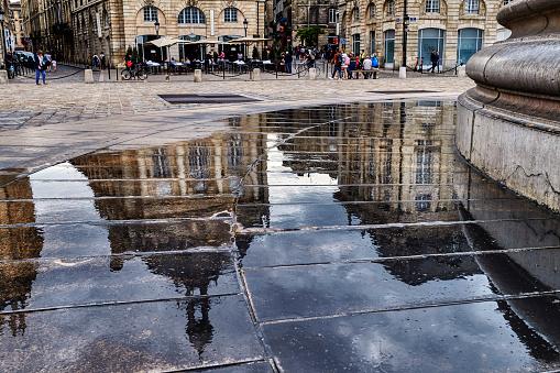Nouvelle-Aquitaine「Place de la Bourse, Bordeaux, France」:スマホ壁紙(19)