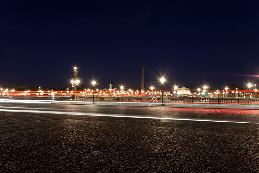Town Square「Place de la Concorde in Paris at dawn」:スマホ壁紙(1)