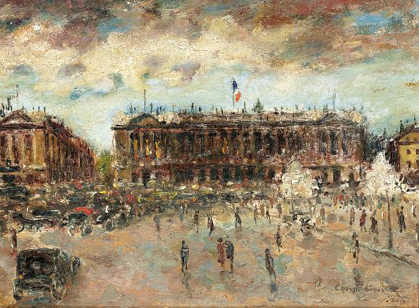 Painting - Activity「Place De La Concorde」:写真・画像(5)[壁紙.com]