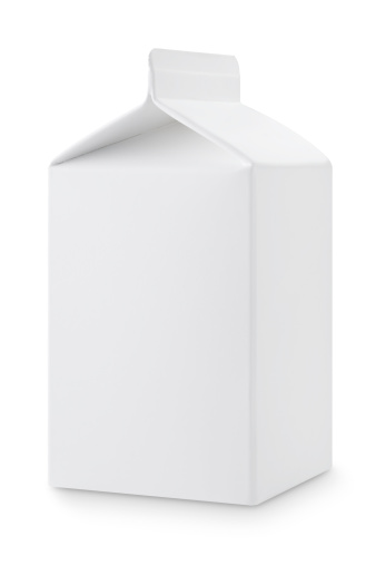 Cream - Dairy Product「Milk box」:スマホ壁紙(10)
