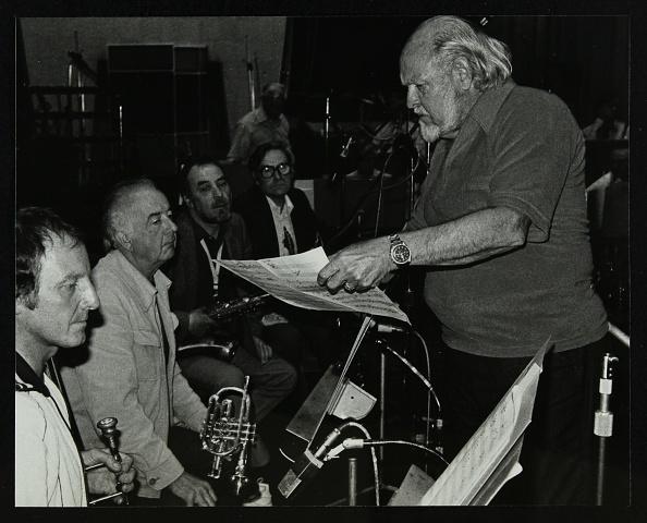 Recording Studio「Jazz at the BBC's recording studios, London, 22 April 1982. .」:写真・画像(19)[壁紙.com]
